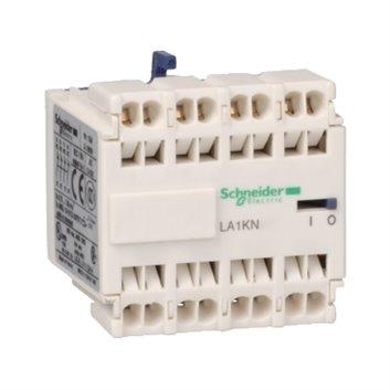 Blok styków pom. do styczników miniaturowych, 3 NO+1 NC, zaciski sprężynowe LA1KN313
