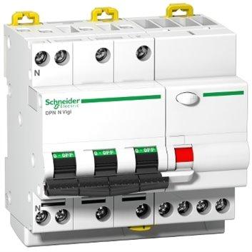 Wyłącznik różnicowo-nadprądowy 4P 20A C 0,03A typ AC iDPN N VIGI A9D31720
