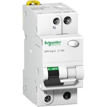 Wyłącznik różnicowo-nadprądowy 2P 16A C 0,03A typ AC DPN Vigi K A9D20616