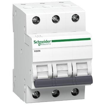 Wyłącznik nadprądowy 3P B 16A 6kA AC K60N A9K01316