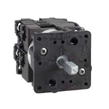 Korpus łącznika woltomierzowego, 3L, 45°, 12A, mocowanie śrubowe K1D024ML