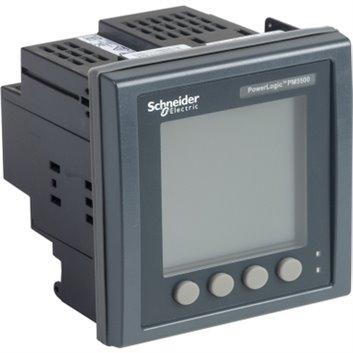 Miernik parametrów sieci (U, I, P, Q, f, PF, E) 5/1A przekładnik 100-415V AC Ethernet Modbus tablicowy 96x96mm METSEPM5560