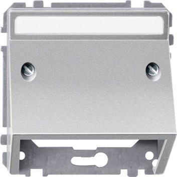 Merten System D Wypust kablowy aluminium MTN464360