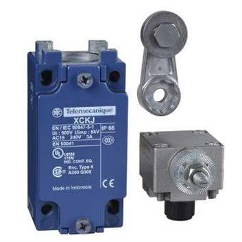 Wyłącznik krańcowy 1Z 1R migowy metal dźwignia obrotowa metal XCKJ10513