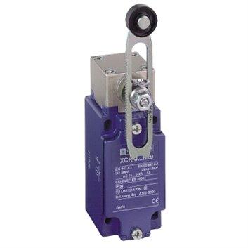Wyłącznik krańcowy 1R 1Z migowy metal dzwignia obrotowa z regulowaną długością metal XCKJ10541