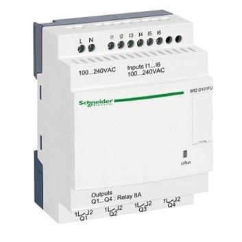 Przekaźnik programowalny 100-240V AC 6we 4wy Zelio Logic SR2D101FU