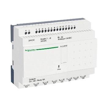 Przekaźnik programowalny kompaktowy 6 wejść/ 8 wyjść 24V DC Zelio Logic SR2E201BD