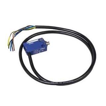 Wyłącznik krańcowy 1R 1Z migowy metal trzpień kabel 1m XCMD2110L1