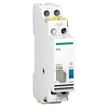 Rozszerzenie przekaźnika impulsowego iERL 10A, 2p, Uc 24 V AC Ue 250 V AC A9E15541