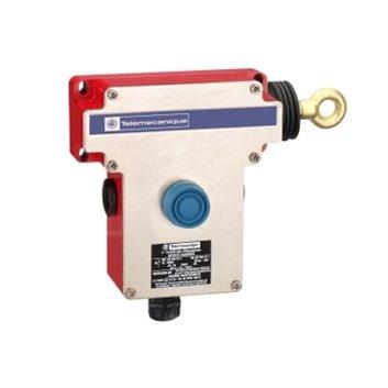 Łącznik bezpieczeństwa cięgnowy- XY2CE -prawa strona-1NC+1NO-przyciski osłonięte XY2CE1A250EX