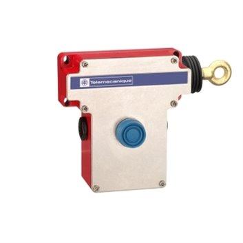 Łącznik bezpieczeństwa cięgnowy XY2CE, prawa strona -2NC+2NO, przyc. osł. XY2CE1A290H7