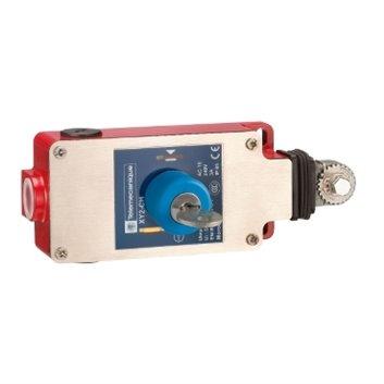 Łącznik bezpieczeństwa cięgn. XY2 CH, 1NC+1NO, klucz-zwolnienie przyciskiem XY2CH13450