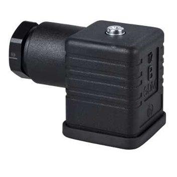 Złącze czujnika żeńskie kątowe 4-pinowe Pg11 DIN 43650 A IP65 XZCC43FCP40B