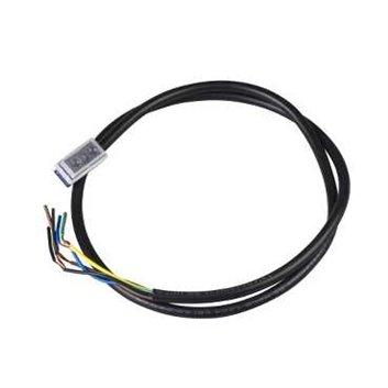 Przewód ze złączem ZCMC kątowe z kablem 2m ZCMC21L2