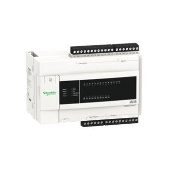 Przekaźnik programowalny 24V DC 24 wjeść/wyjść TM238LDD24DT