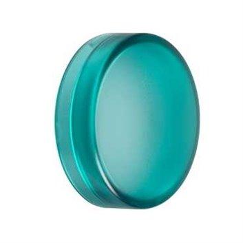 Soczewka przycisku 22mm płaska zielona okrągła ZBV013