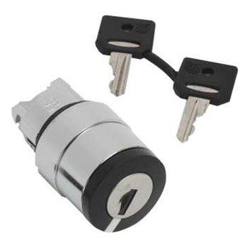 Główka przełącznika piórk., O 22, 2 poz., stabilny, Ronis 520E ZB4BG214