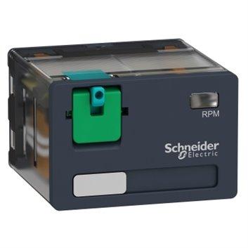 Przekaźnik mocy wtykowy, Zelio RPM, 4 styki przełączne, 24 V DC RPM41BD