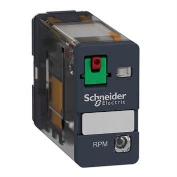 Przekaźnik mocy wtykowy, Zelio RPM, 1 styk przełączny, 24 V AC, dioda LED RPM12B7