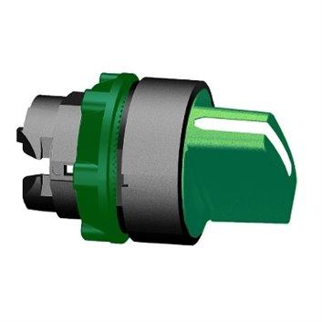 Napęd przełącznika piórkowego zielony O 22, 2-poz. , stabilna ZB5AD203
