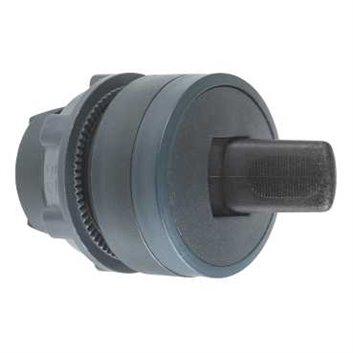 Napęd przełącznika piórkowego czarna O 22, 2 poz., stabilna ZB5AD28