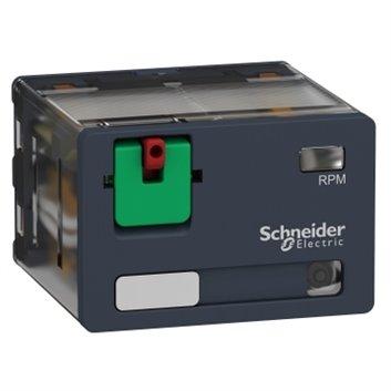 Przekaźnik mocy wtykowy, Zelio RPM, 4 styki przełączne, 230 V AC, dioda LED RPM42P7