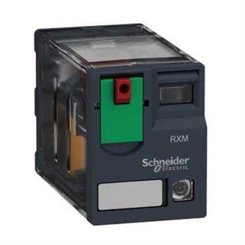 Przekaźnik, Zelio RXM, 2 C/O, 120 V AC, 12A, z LED RXM2AB2F7