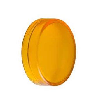 Soczewka żółta zwykła do okrągłego wskaźnika św. O22 z żarówką BA9s ZBV015