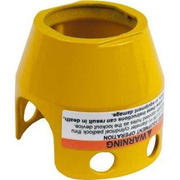 Osłona metalowa dla przycisku grzybkowego 40mm blokada na kłódkę ZBZ1605