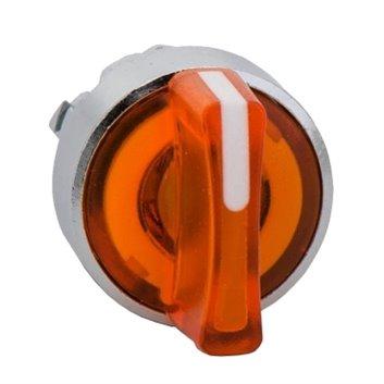 Napęd przełącznika 3 połóżeniowy pomarańczowy z samopowrotem ZB4BK1553