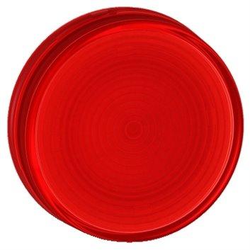 Wkładka przycisku 22mm płaska czerwona bez opisu ZB7EV04