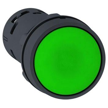 Przycisk sterowniczy 22mm zielony z samopowrotem 1Z XB7NA31
