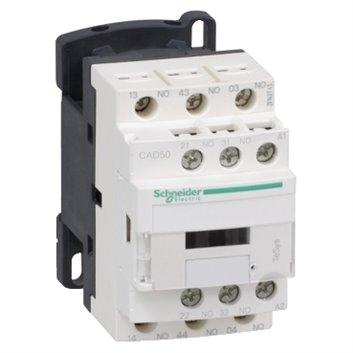 Stycznik pomocniczy 10A 5Z 0R 220 V AC CAD50M7