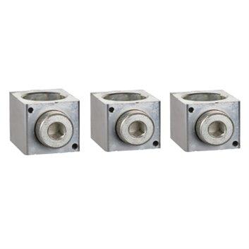 Zacisk klatkowy aluminiowy 3P 35-350mm2 CVS/NSX/INS400/630 (komplet na jedną stronę 3szt.) LV432479