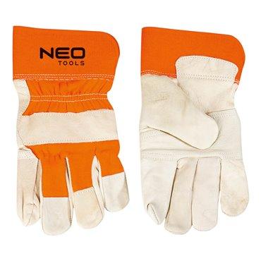 Rękawice robocze skóra bydlęca licowa rozmiar 10,5 97-602