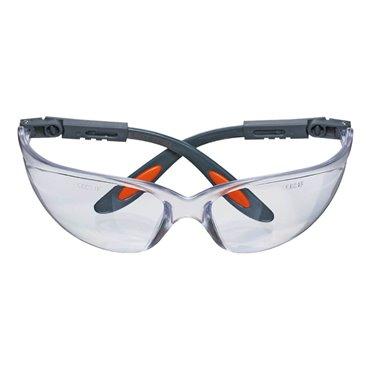 Okulary ochronne poliwęglanowe białe soczewki 97-500