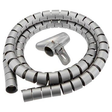 Organizer /osłona/ przewodów spiralny 200 x 2,5 cm polipropylen 79R274