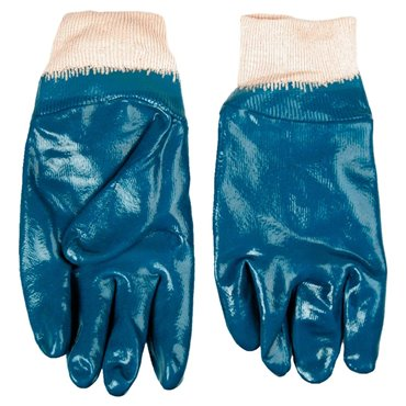 Rękawice robocze dzianina bawełniana powlekana kauczukiem nitrylowym rozmiar 10,5 cala 83S201