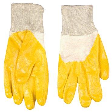 Rękawice robocze dzianina bawełniana powlekana kauczukiem nitrylowym rozmiar 10,5 cala 83S202