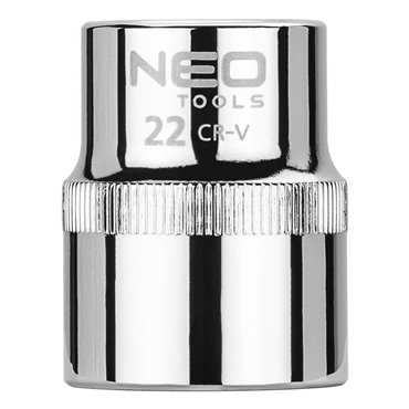 Nasadka sześciokątna 1/2cala 22 mm Superlock 08-022