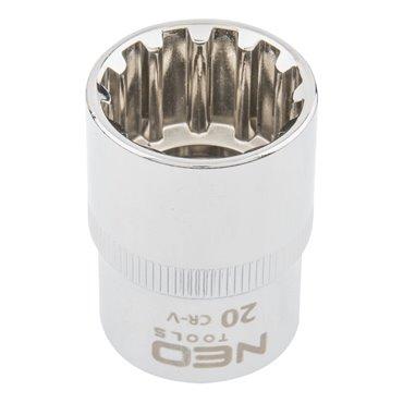 Nasadka Spline 1/2cala 20 mm 08-592