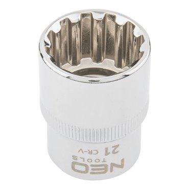Nasadka Spline 1/2cala 21 mm 08-593