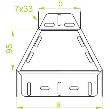 Redukcja symetryczna RKSJ100/50H60 165524