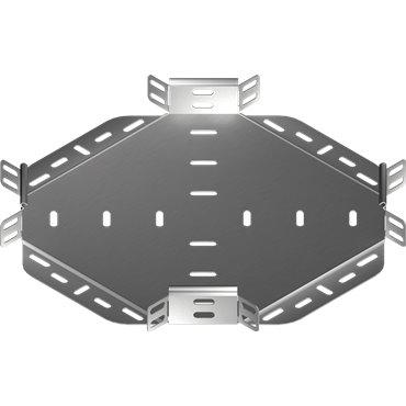 Czwórnik korytka 100x42mm CZKJ100H42 146410
