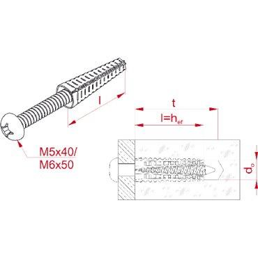 Kołek rozporowy MKR6x32 stal 803941 /50szt./