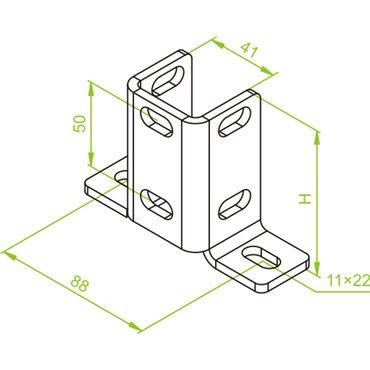 Podstawa montażowa PMV N 741207