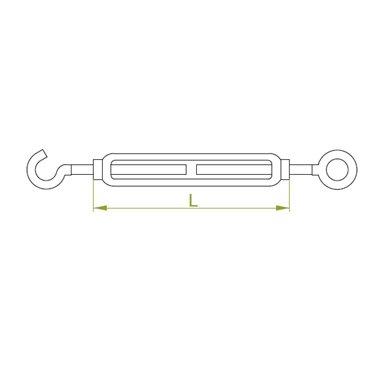 Śruba rzymska 130mm 10 KHO10x130 650354