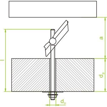 Śruba 8mm 100mm stal SZM8x100 650300 /20szt./