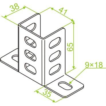 Podstawa montażowa PMN 740807