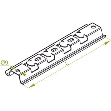 Profil montazowy typ PMC 100 900910